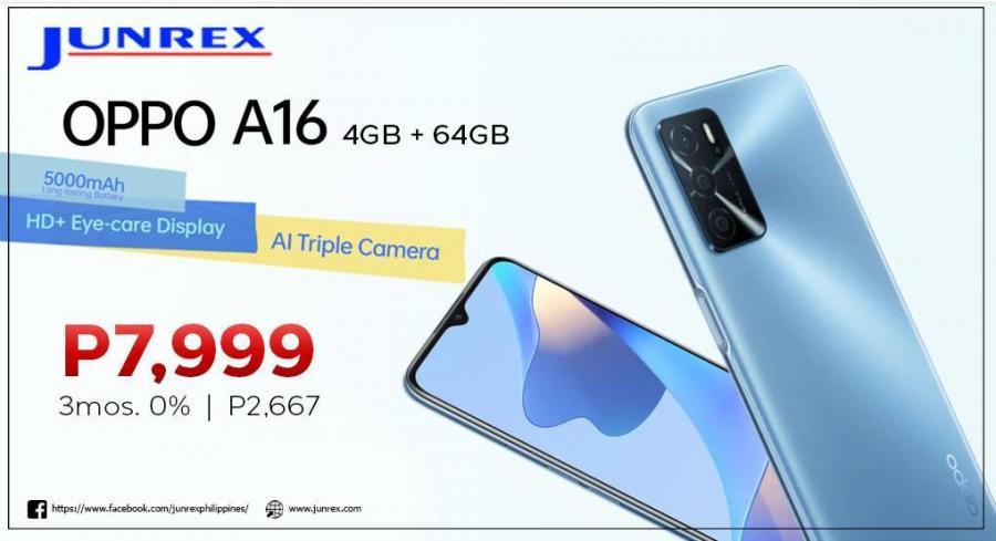 OPPO A16 (4GB+64GB)