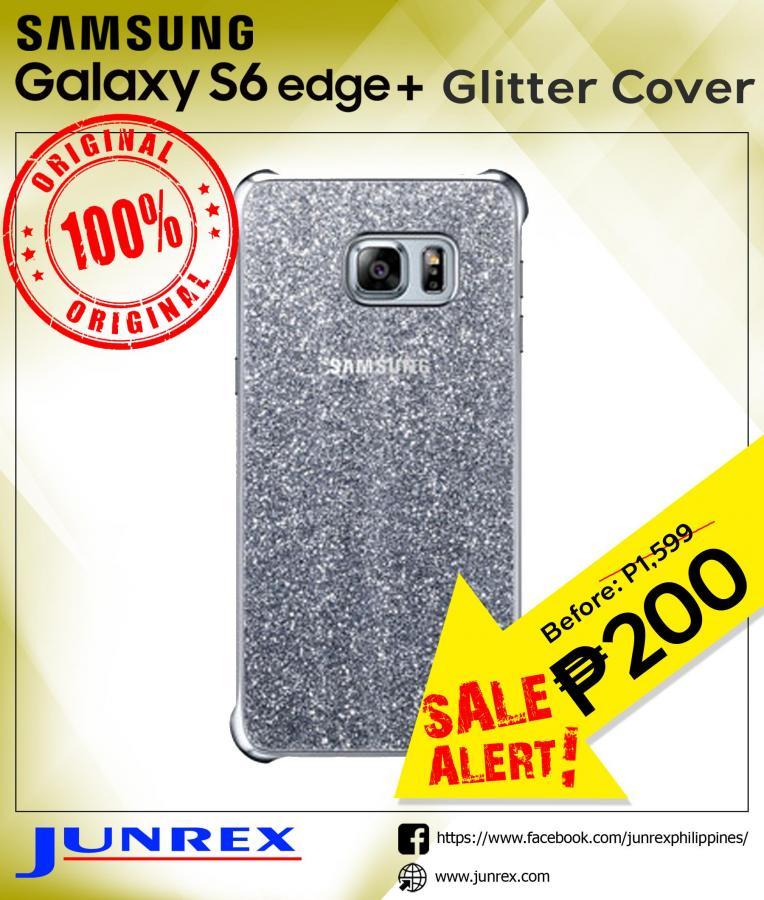 Samsung Galaxy s6 edge+ glitter cover
