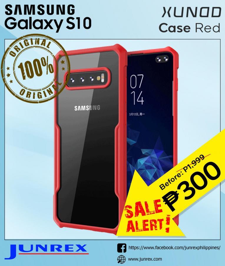xunod Samsung s10 case red
